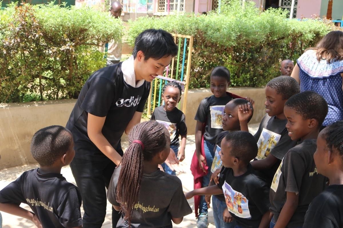大学生 アフリカ