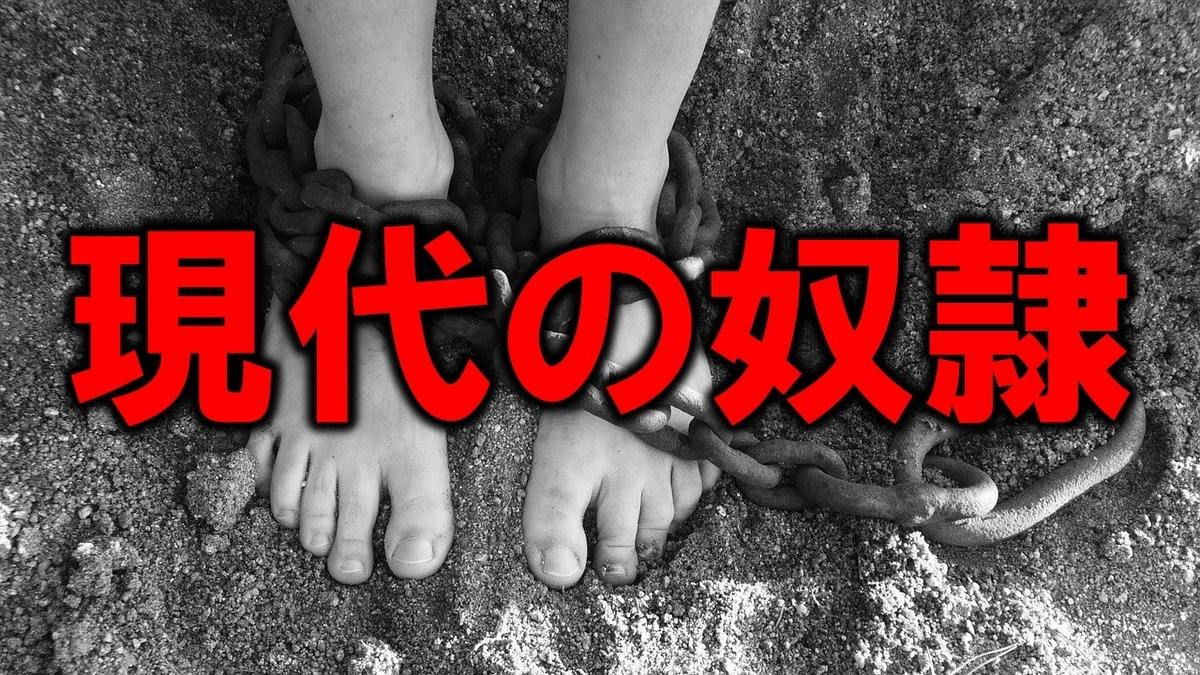 現代の奴隷