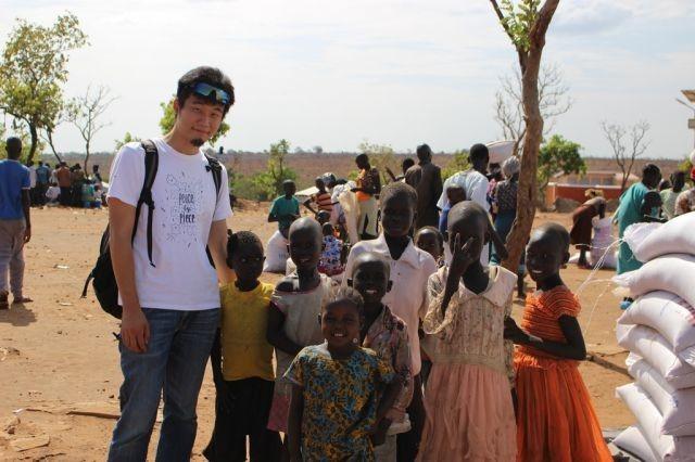 アフリカの内戦で傷つく子どもたち