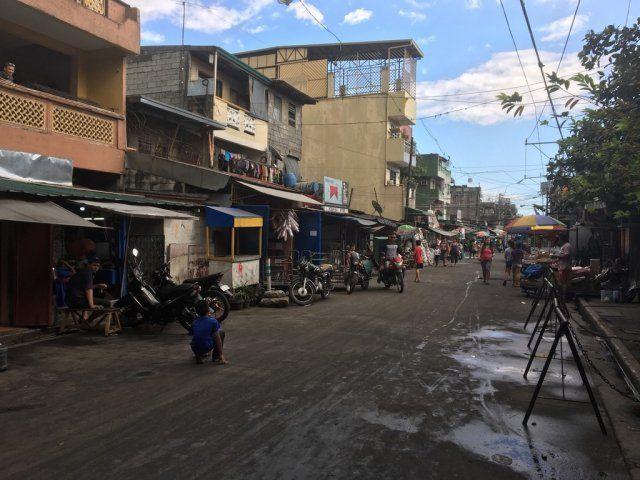 マニラ市内の様子