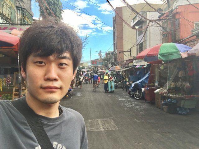 フィリピンを旅行する原貫太