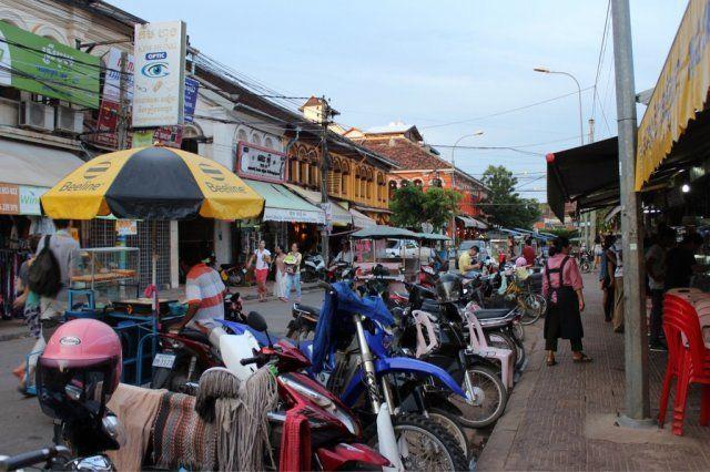 カンボジア旅行者に人気のシェムリアップ