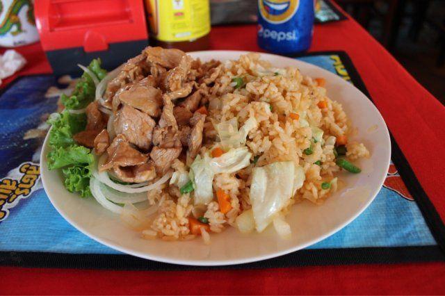 カンボジア旅行の食費