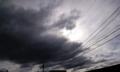 台風一過の空 2009.10.08