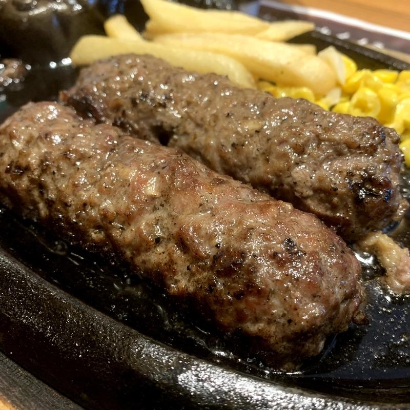 ブロンコビリーのハンバーグが最高に美味しい!