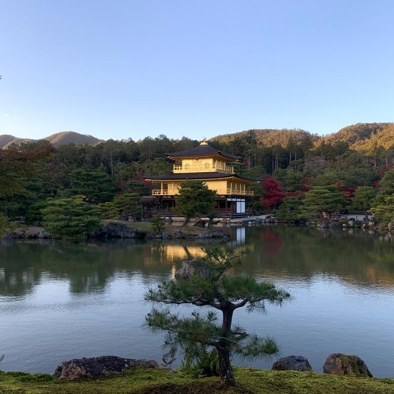 京都の観光名所 金閣寺へ行くにはレンタサイクルの利用が便利