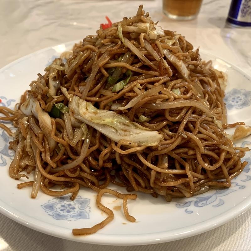 中華料理 梅林(五反田) ソース焼きそば
