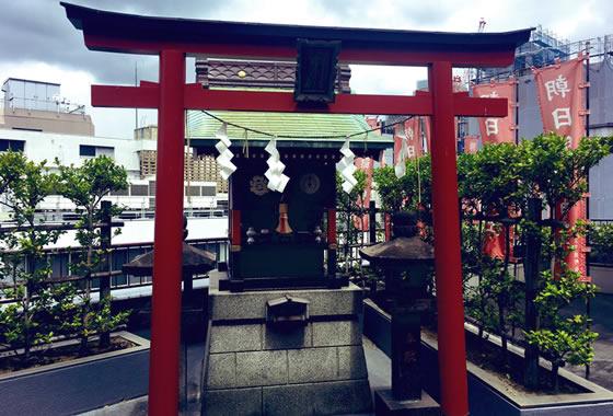 天気の子 ビル屋上の神社のモデル