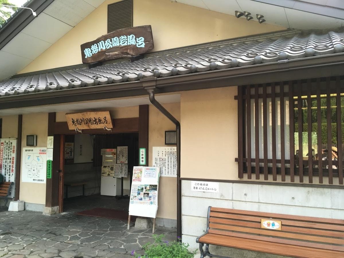 鬼怒川公園 露天風呂