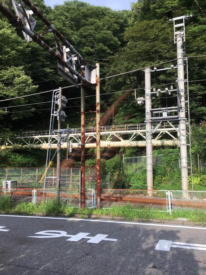 東京電力鬼怒川発電所 水路