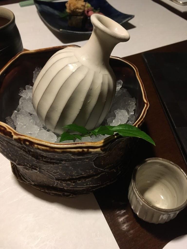 「界 鬼怒川」日本酒の徳利が可愛らしい