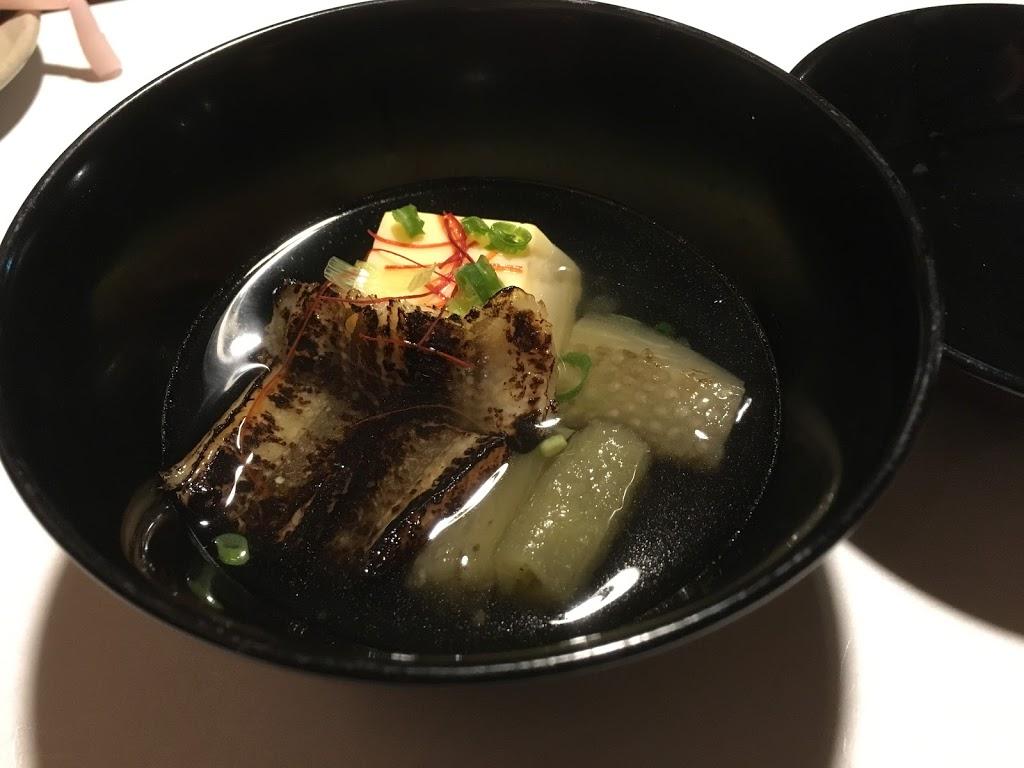 「界 鬼怒川」夕食 穴子柔らか煮