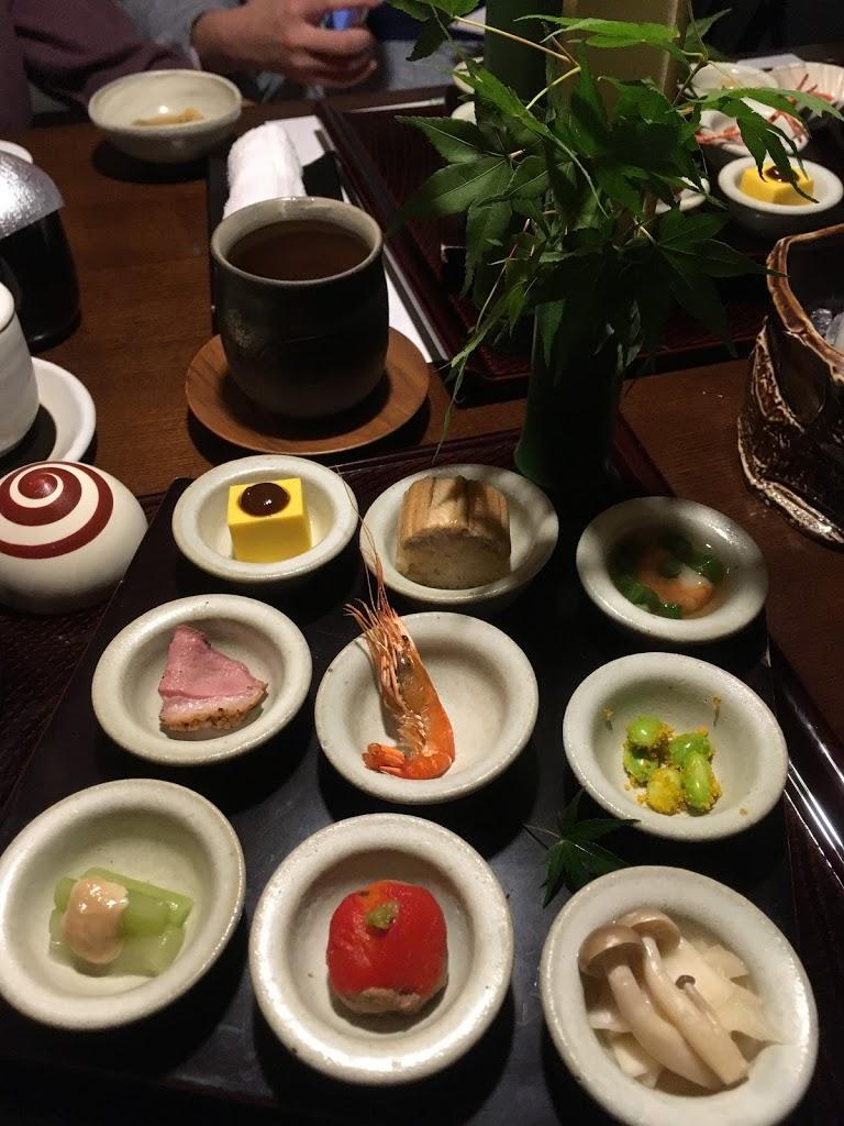「界 鬼怒川」夕食 宝楽盛り