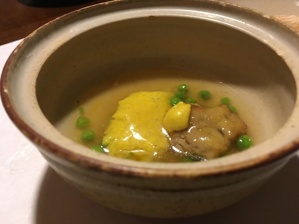 「界 鬼怒川」夕食 とうきび餅