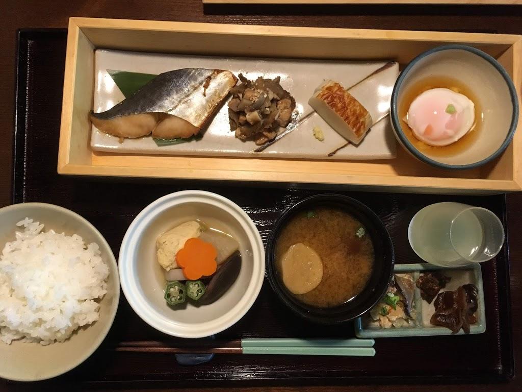 「界 鬼怒川」朝食
