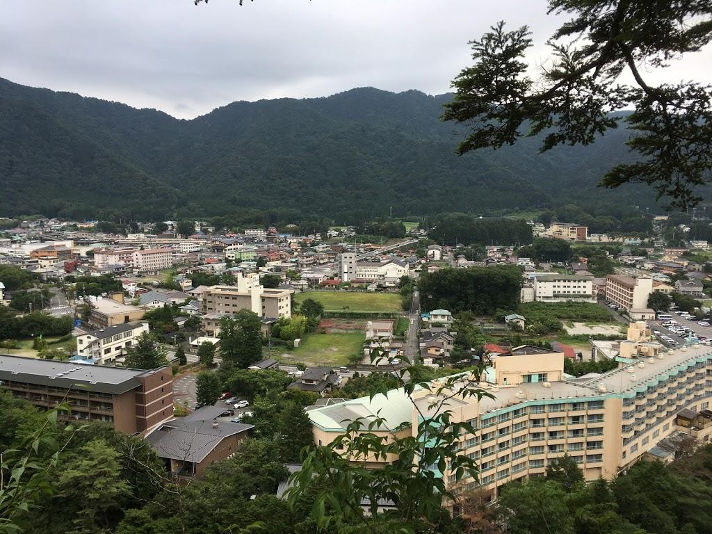 鬼怒楯岩大吊橋 展望台からの景色