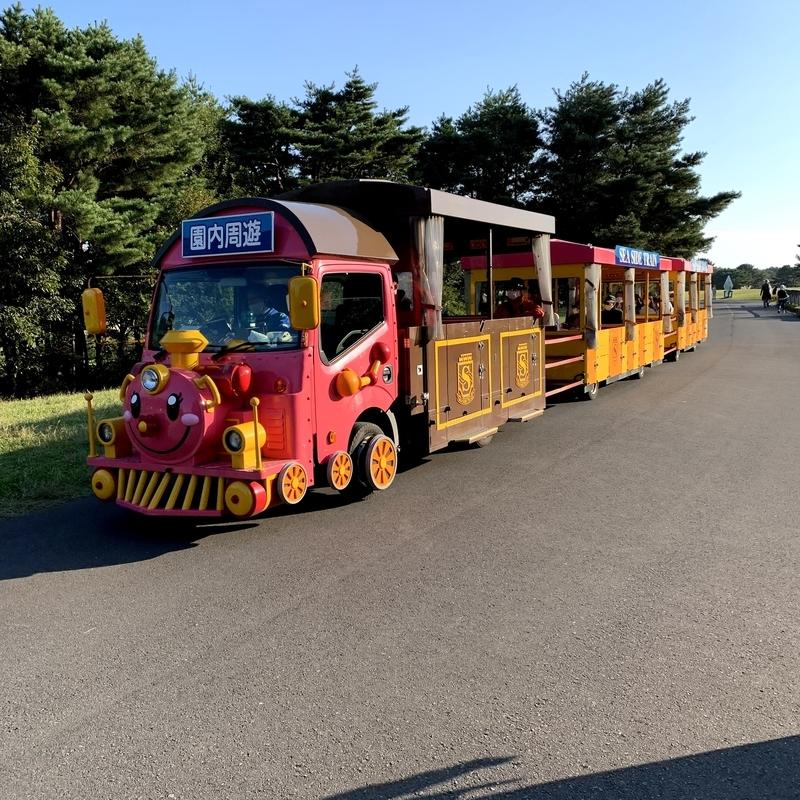 ひたち海浜公園の周遊バス
