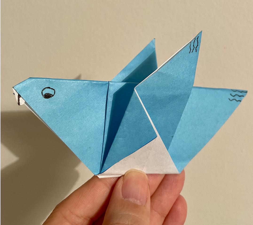 origami-dove