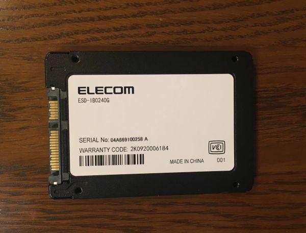 Logitec LMD-SS240KU3 SSD本体