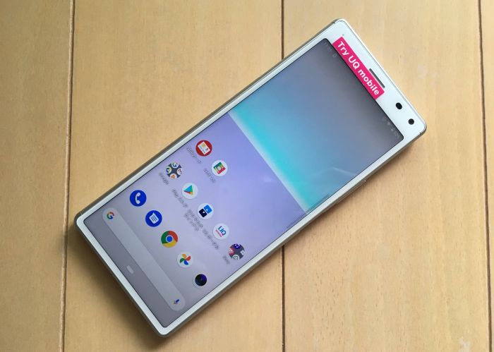 try UQ mobile Xperia 8
