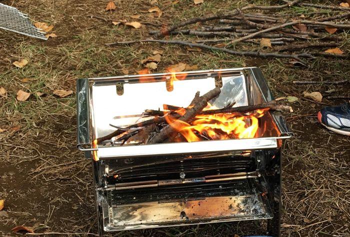ONOE フォールディングBBQコンロ 焚き火