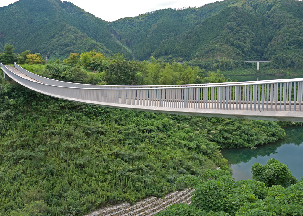 個別「奥津湖 浮島橋」の写真、...