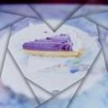 [フランソワ喫茶室] 紫のケーキ