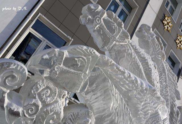 「氷の馬」