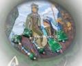 「今日の手作りのピアス:鉱山の王妃」