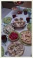 故郷の大晦日の料理。