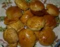 今日のパン:モッツァレラチーズとハームのパン。