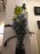 友達が活けた花。