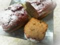 今日のお菓子:「ブラックチェリーのパウンドケーキ」