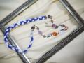 手作りのネックレス。