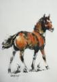 「父の馬たち。天国の野原を駈けている仔馬」