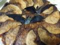 黒糖キャラメルのアップルケーキ(ハロウィーンバージョン)