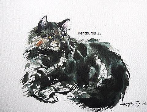 「子供の頃の思い出。ヴァシカという名の猫」