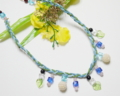新作のネックレス:「春の足音」