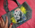 「二匹の仔パンダ」小さなバッグ