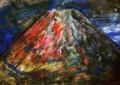 朝方の富士