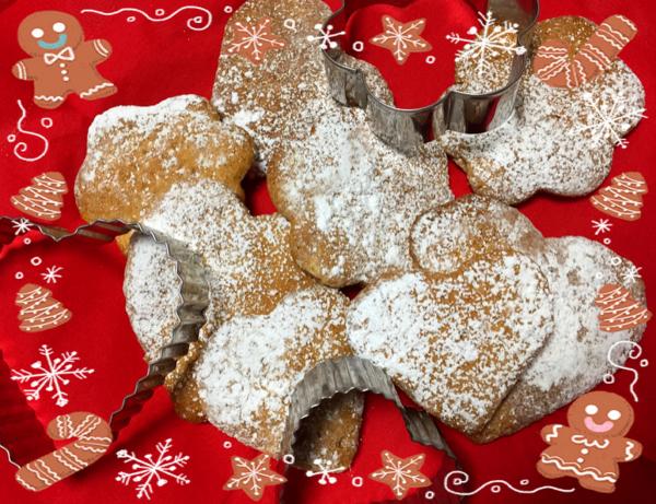 スパイスがきいた蜂蜜とジンジャーのクッキー