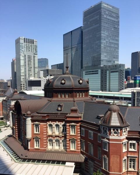 今日も美しい東京駅。