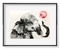"""""""Baby elephant with the red balloon """""""