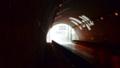 わー、トンネルの先は大雨