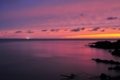 The flame sky purple sea : 焔空紫海 北海道積丹半島入舸