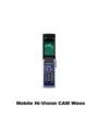 [X000シリーズ][KCP+][Bluetooth][ハイビジョンムービー]Mobile Hi-Vision CAM Wooo(HIY01)(HI3G)