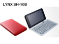 [Android][Bluetooth][スマートフォン][QWERTYキー搭載][タッチパネル][HSDPA(7.2Mbps)][HSUPA(5.7Mbps)][無線LAN]LYNX SH-10B