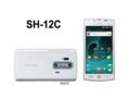 [スマートフォン][タッチパネル][HSDPA(14Mbps][HSUPA(5.7Mbps][Bluetooth][Wi-Fi][Android][AQUOS PHONE]SH-12C