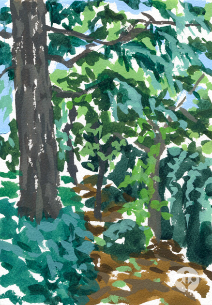2013_trees_gouache