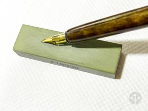 ペン先と砥石